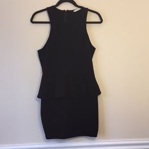 Black Fitted Lush Dress (size L)